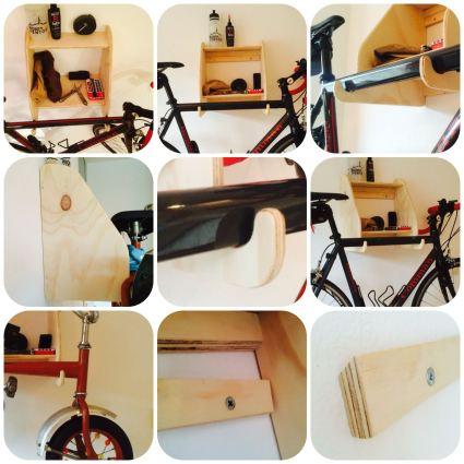 fietskastje 9 frame